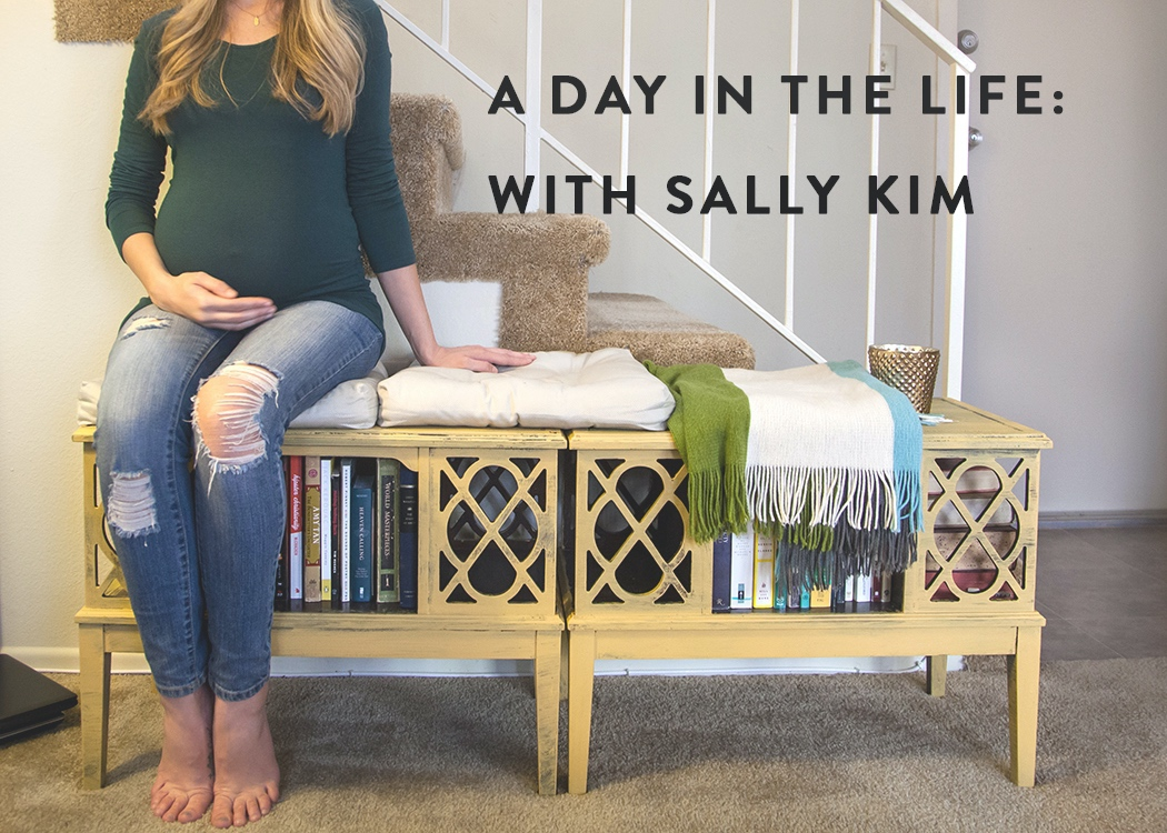 day in the life with sally kim