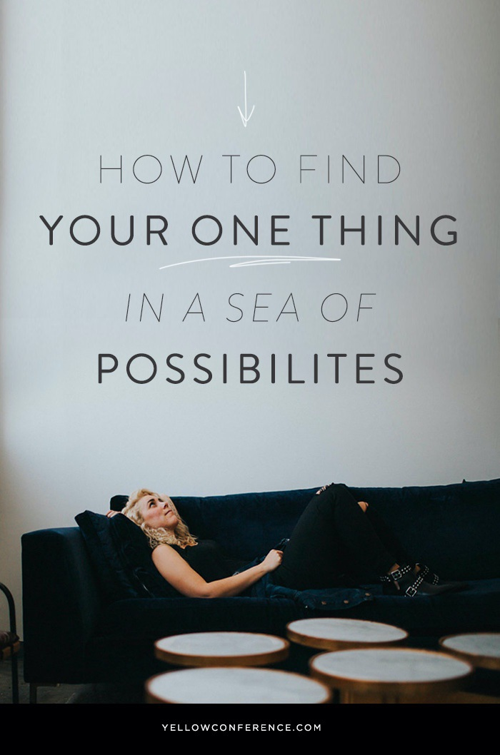 Find-your-ONE-THING