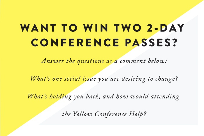 Want a chance to win 2 two-day passes to Yellow Conference 2016? Read this post to find out how!