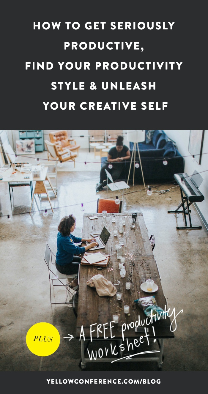 How To Be Productive & Unleash Your Creativity