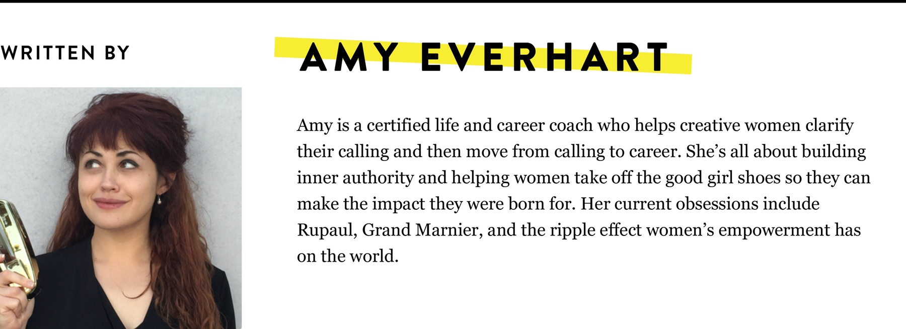 AMY EVERHART BIO