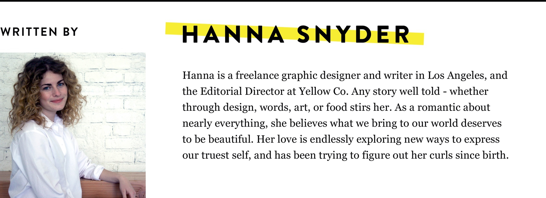 Hanna Snyder Bio