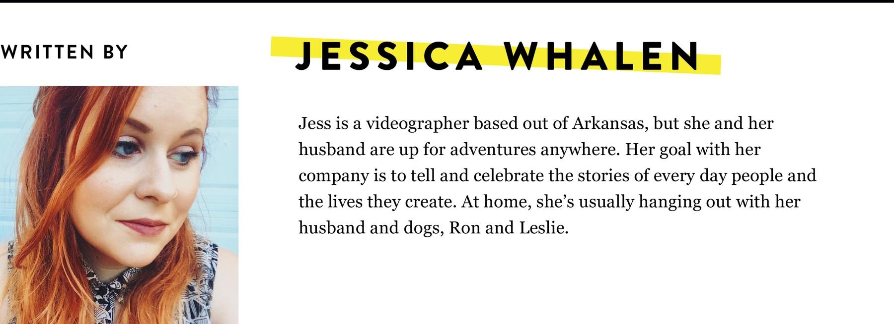 JESSICA WHALEN BIO