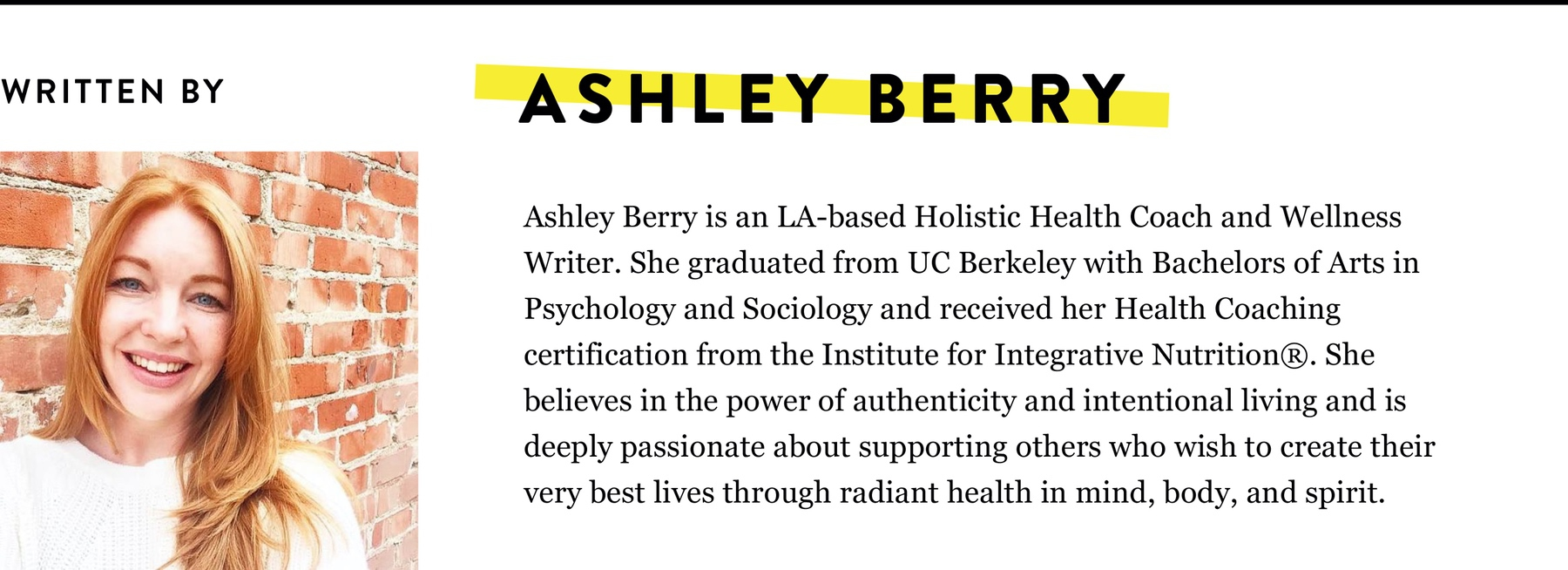 ASHLEY BERRY BIO
