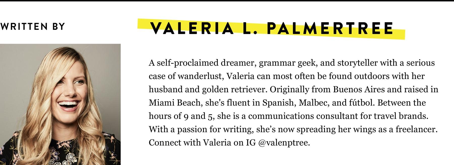 Valeria L. Palmertree BIO